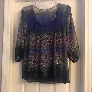 Rose + Olive 1X blouse
